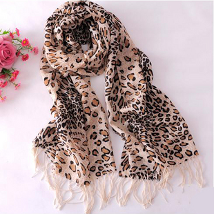 Pure print long design high quality all-match 9038 classic leopard print scarf 176 70