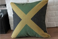 Jamaica Flag The pillow 1pcs 45 *45cm Free Shipping