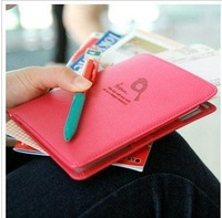 2013 Passport Holder document new Korean short paragraph jacket multifunction travel wallet bag 201306WB358