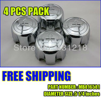 free shipping 4PC/LOT FOR MITSUBISHI MONTERO Sport Wheel Hub Center Cap SET OF 4 MB816581