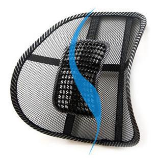 Car cushion viscose lumbar pillow vehienlar tournure office cushion at home massage lumbar support auto supplies