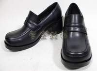 HOT SALE V1 thick heel round toe shoes school uniform shoes uniform shoes japanese style preppy style cosplay cos