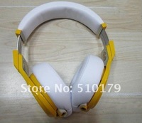 New Arrival Pro headphones Lamborghini pro Yellow and white pro headphone Dropship Free shipping