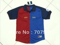 new arrived retro 1899-1999 high thailand quality figo 7# home football soccer jerseys uniforms shirts embroider logo