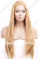 New! Free shipping #27 color quality synthetic lace front wig