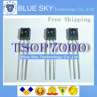 Free Shipping 10PCS/LOT TSOP7000:IR Emitting Diode; Power Dissipation, Pd:30mW; Viewing Angle:45 ;