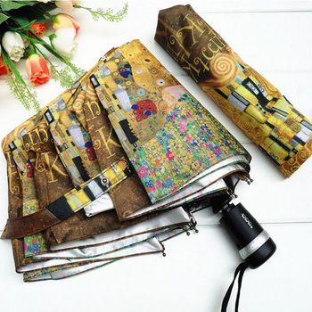 The Elephant abstract doodle fully-automatic elargol coating sun  sun protection  sun   umbrella Free shipping NEW