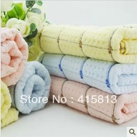 Free shipping Hot-selling 2013 new arrival waste-absorbing cuper soft face towel 100% cotton adult and child towel 34x74cm 90g