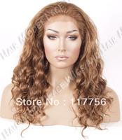 Free shipping beautiful premiumed kanekalon fiber synthetic lace front wig