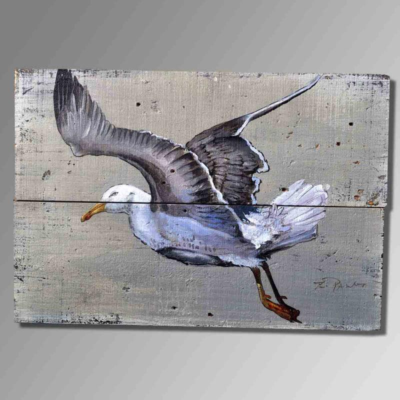 zwaan schilderen. hoge kwaliteit abstracte kunst stijl schilderen op ...