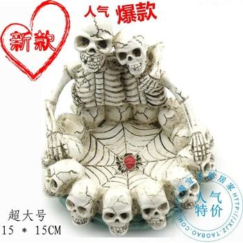 Personalized ashtray unique skull ashtray birthday gift male