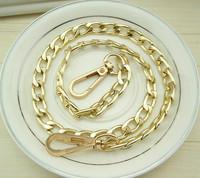 Min order $15 Promotion!wholesale 80 cm length,10mm width  Aluminum Bag chain for women Taping for girls Handbag accessories lot