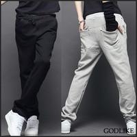 hot sale 2013 fashion  free shipping casual men fashion sports pants / black light grey  navy blue M L XL XXL