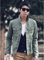 2013 spring outerwear men's clothing thin casual male slim the trend of male jacket male