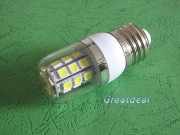 5pcs/lot E27 5050 27 SMD led spotlight Cool white/warm white 220-240V AC 4W energy saving led lamps #1052
