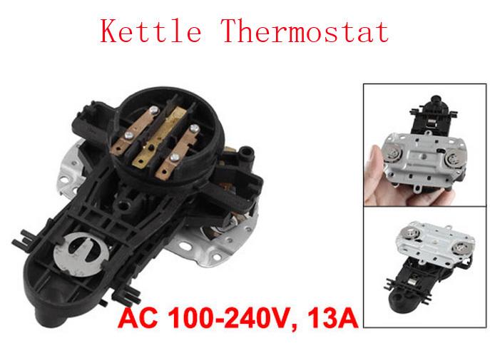 Peça de reposição 100 V - 240 V 13A 125C chaleira termostato controlador de temperatura 3 pcs(China (Mainland))