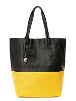 Unique and super chic genuine leather shopping bag, 100% genuine cow hide handbags free shipping custom logo