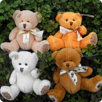Crazy girl * hot sales Small plush teddy bear beggar bow toy birthday gift dolls