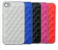 Luxury Leather Hard Back Cover Skin Shell Case for iPhone5 5g  New FREE SHIPPING