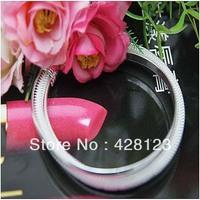 Hot item!Trendy bangle Silver Plated Bangle Fashion Bangle 300pcs/lot  free shipping by dhl