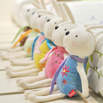 Plush rabbit plush toy small gift Small doll dolls small doll gift--free shipping