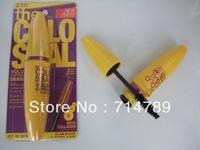 FREE SHIPPING NEW Brand Mascara Volume Express Colo SSAL Mascara, with Collagen, black, Mega Brush 10.7 ml (1pcs/lot)