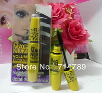 1 pcs / lot new Brand Mascara the MAG NUM Volume Express Mascara BLACK  FREE CHINA POST SHIPPING