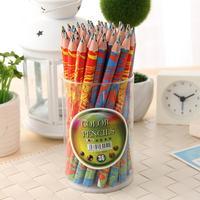 36 coarse hexagonal pencil student stationery pen