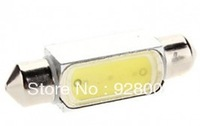 Free Shipping Bestselling Car Festoon LED 39MM 1.5W high power white C5W Car Instrument/Reading Lamp (12V)