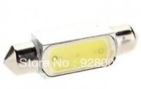 Free Shipping Bestselling Car Festoon LED 39MM 1.5W high power white C5W Car Instrument/Reading Lamp (12V)