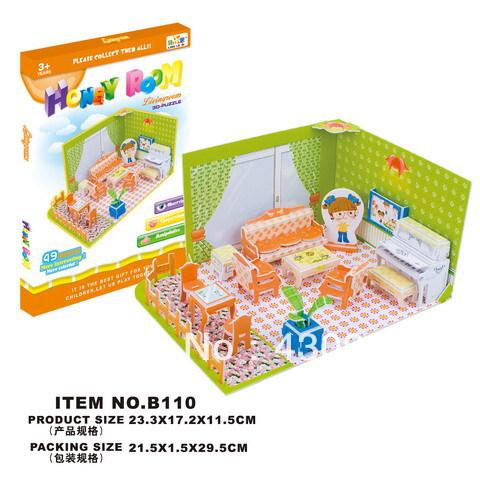 cardboard models for kids Promotion