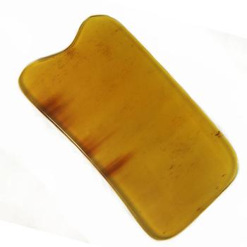 Cattle horn comb clyburn wrinkle black eye facial beauty board bath massage board