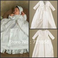 CL-014 2013 New Arrival Lovely White Good Quality Handmake Baby Christening/Baptism Dresses