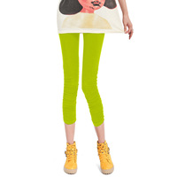 2013 pleated summer candy color solid color legging personality slim all-match 7