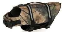 new style free shipping dog life jacket  pet life jacket dog clothing pet clothing dog jacket camouflage color