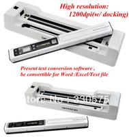 portable scanner pen Skypix TSN450 scanner with base JPEG/PDF format 1200dpi document portable mini photo scanner with base