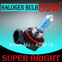 12pcs H8 Super Bright White Fog Halogen Bulb Hight Power 35W Car Headlight Lamp