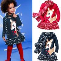 Платье для девочек Retail 1piece new fashion ruffles child girl princess summer cake chiffon dress