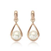 free shipping pearl earrings R122953-17