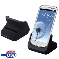 Desktop Charger Cradle with 2nd Battery Slot for Samsung Galaxy SIII / i9300 Free shipping