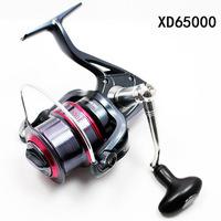 Fishing Spinning Reel XD6500 7 ball bearing Long Casting Reel High Speed 5.1:1 Aluminum Spool