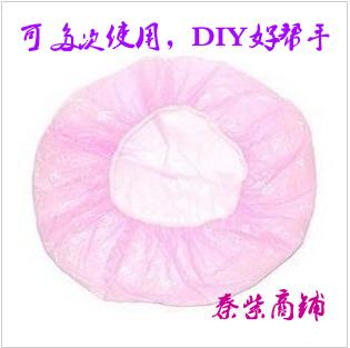 Disposable shower cap nursing waterproof shower cap dust cap plastic cap hot oil nursing care