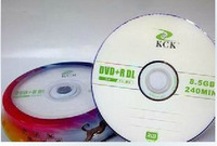Kck dvd r dl 8.5g 8x d9 cd large capacity blank discs 10 bucket