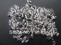 Chunky Shinny 10000pcs a lot 2MM Tube Crimp beads for Chunky Necklace Jewelry