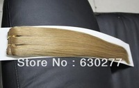 Queen Hair Products 100%Human Hair Weft,100gram/pc,straight 14inch Blonde 2pcs/Lot