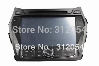 FOR Hyundai IX45 2013  Santa Fe 2013 WINDOWS CE6.0 8INCH CAR PC DVD GPS   Driver Scheme:Mstar776 MCU:Panosonic 3D