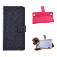 For oppo   r809t mobile phone case lychee mobile phone protective case r809t around open clamshell holster brief