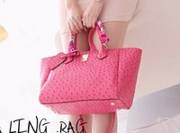 NEW 2013 Fashionable Sweet style Women's Handbag Leather Candy Colors Leisure General women Messenger bag Wholesale