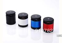 Gesture sensor Portable Wireless Stereo Bluetooth Speaker, Smart Voice Handsfree, TF Card Player, Red blue silver black