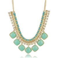 new 2013 hot sale jewelry candy colorful choker necklace sparkling statement exaggerated fashion jewelry